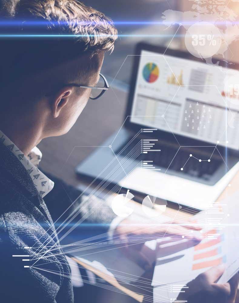 Miami SEO Expert Working On Computer